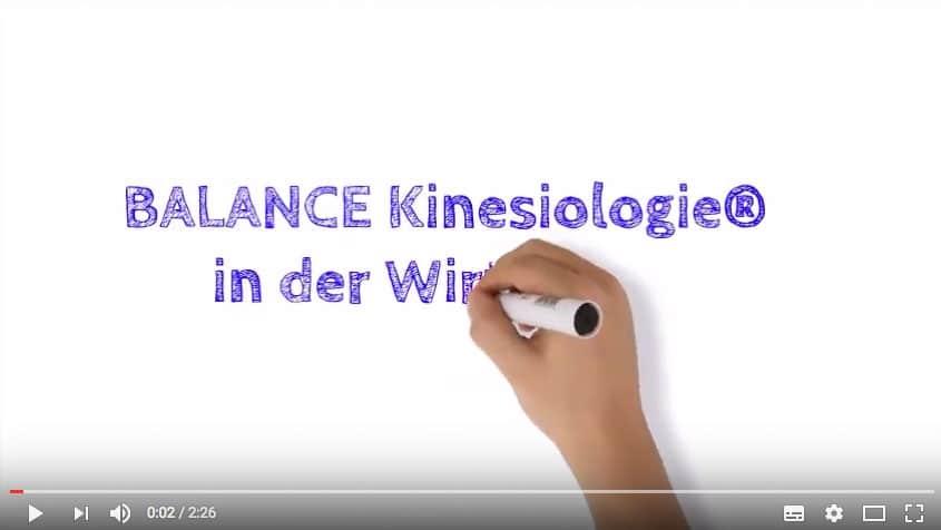 Zum Video Balance Kinesiologie in der Wirtschaft